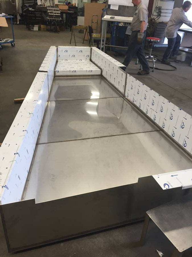 stainless, fabrication, sheet metal, welding